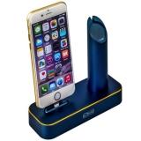 Док - станция для Apple Watch & iPhone COTEetCI Base1 Charging Cradle stand (CS2045 - BKG), цвет темно - синий