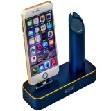 Док - станция для Apple Watch & iPhone COTEetCI Base1 Charging Cradle stand (CS2045 - BKG), цвет темно - синий