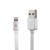 Lightning кабель USB Remax Kingkong RC - 015i Safe & Speed плоский (1.0 м), цвет белый