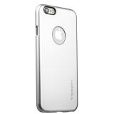 Пластиковый чехол - накладка для iPhone 6S SPIGEN SGP Thin A (SGP10942) - Satin Silver, цвет серебристый