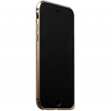 Бампер металлический iBacks Arc-shaped Damascus Aluminium Bumper for iPhone 6s/ 6 (4.7) - gold edge (ip60010) Gold Золото