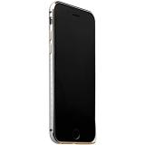 Бампер металлический iBacks Arc-shaped Damascus Aluminium Bumper for iPhone 6s/ 6 (4.7) - gold edge (ip60011) Silver Серебро
