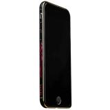 Бампер металлический iBacks Colorful Arc-shaped Flame Aluminium Bumper for iPhone 6s/ 6 (4.7) - gold edge (ip60018) Черный