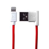 Lightning кабель USB Hoco UPL11 L Shape (1.2 м), цвет красный