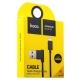 Lightning кабель USB Hoco UPL11 L Shape (1.2 м), цвет черный