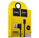 MicroUSB кабель Hoco UPM10 L Shape Cable (1.2 м), цвет черный