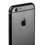 Бампер металлический iBacks Essence Aluminium Bumper for iPhone 6s/ 6 (4.7) - gold edge (ip60006) Black Черный