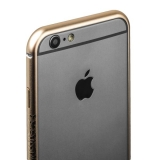 Бампер металлический iBacks Arc-shaped Venezia Aluminium Bumper for iPhone 6s/ 6 (4.7) - gold edge (ip60007) Gold Золото