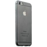 Пластиковый ультра - тонкий чехол - накладка для iPhone 6S iBacks iFling Ultra - slim PP Case Gray, цвет серый