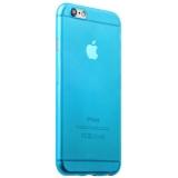 Пластиковый ультра - тонкий чехол - накладка для iPhone 6S iBacks iFling Ultra - slim PP Case Blue, цвет голубой