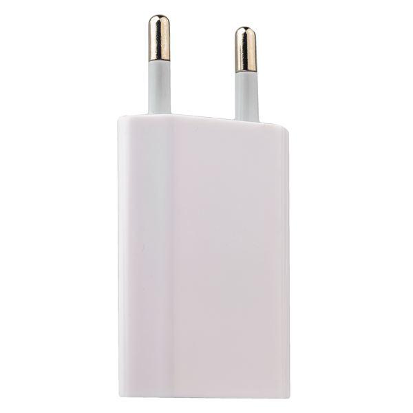 Сетевой адаптер питания для Apple (1000 mA 5 Вт) класс ААА, цвет белый