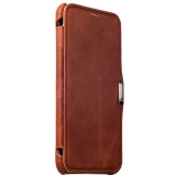 Чехол - книжка кожаный iCarer для Samsung GALAXY A8 Vintage Series (RSA81001br) Коричневый