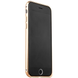 Бампер металлический iBacks Venezia Aluminum Bumper for iPhone 6s/ 6 (4.7) - (ip60078) Champagne Gold - Золото