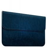 Защитный чехол - конверт для Apple MacBook Air 11 iCarer Genuine Leather Series, цвет голубой
