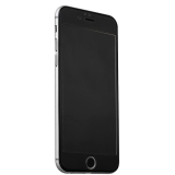 Защитное стекло для iPhone 6S Plus iBacks Nanometer Tempered Glass with Glossy Surface (0.30 мм) Black, цвет черный