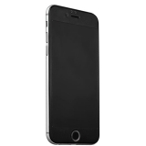 Защитное стекло для iPhone 6S Plus iBacks Nanometer Tempered Glass with Scaled Pattern (0.30 мм) Black, цвет черный