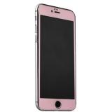 Пластиковый чехол - накладка для iPhone 6S Plus iBacks Full Screen Tempered Glass, цвет розовый