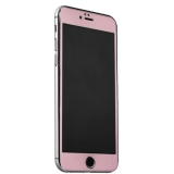 Стекло защитное & накладка пластиковая iBacks Full Screen Tempered Glass для iPhone 6s Plus/ 6 Plus (5.5) - (ip60188) Розовое