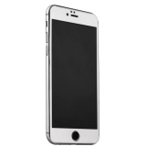 Стекло защитное & накладка пластиковая iBacks Full Screen Tempered Glass для iPhone 6s Plus/ 6 Plus (5.5) - (ip60186) Серебристое