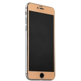 Стекло защитное & накладка пластиковая iBacks Full Screen Tempered Glass для iPhone 6s Plus/ 6 Plus (5.5) - (ip60185) Золотистое