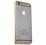 Бампер металлический iBacks Flame Aluminium Bumper for iPhone 6s/ 6 (4.7) - (ip60079) Champagne Gold - Золото