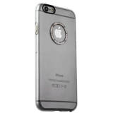 Накладка пластиковая iBacks Transparent Case with Diamond Ring для iPhone 6s Plus (5.5) - (ip60220) Black Ring