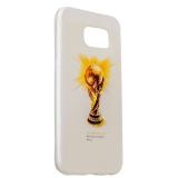 Чехол - накладка GA - Print для Samsung GALAXY S6 SM - G920F силикон (спорт) Чемпионат мира вид 006
