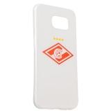 Чехол-накладка UV-print для Samsung GALAXY S6 SM-G920F силикон (спорт) ФК Спартак тип 3
