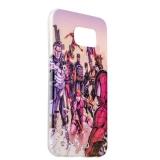 Чехол - накладка GA - Print для Samsung GALAXY S6 SM - G920F силикон (кино) вид 004