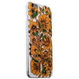 Чехол-накладка UV-print для iPhone 6s Plus/ 6 Plus (5.5) силикон (цветы и узоры) Хохлома тип 005