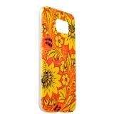 Чехол - накладка GA - Print для Samsung GALAXY S6 SM - G920F силикон (цветы) вид 39