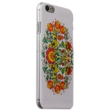 Чехол-накладка UV-print для iPhone 6s/ 6 (4.7) пластик (цветы и узоры) Хохлома тип 003