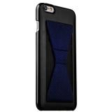 Пластиковый чехол с подставкой для iPhone 6S Plus iBacks Bowknot Series PC Case Black/ Stripes, цвет черный