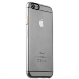 Накладка пластиковая iBacks Inherent Jacket Transparent Case для iPhone 6s/ 6 (4.7) - (ip60306) кнопка Champagne Gold