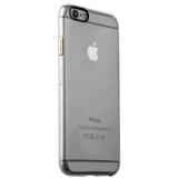 Накладка пластиковая iBacks Inherent Jacket Transparent Case для iPhone 6s Plus/ 6 Plus (5.5) - (ip60310) кнопка Champagne Gold