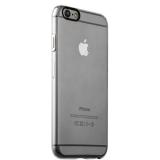 Накладка пластиковая iBacks Inherent Jacket Transparent Case для iPhone 6s/ 6 (4.7) - (ip60307) кнопка Silver