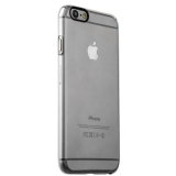 Накладка пластиковая iBacks Inherent Jacket Transparent Case для iPhone 6s/ 6 (4.7) - (ip60308) кнопка Gray
