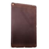 Силиконовый чехол накладка для iPad Pro 12.9 супертонкий, цвет прозрачно - черный