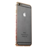 Бампер металлический iBacks Colorful Arc-shaped Flame Aluminium Bumper для iPhone 6s Plus/ 6 Plus - gold edge (ip60063) Gold