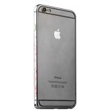 Бампер металлический iBacks Colorful Arc-shaped Flame Aluminium Bumper для iPhone 6s Plus/ 6 Plus - gold edge (ip60064) Gray