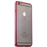 Бампер металлический iBacks Colorful Essence Aluminum Bumper для iPhone 6s Plus/ 6 Plus (5.5) (ip60091) Red