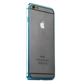 Бампер металлический iBacks Colorful Venezia Aluminum Bumper для iPhone 6s Plus/ 6 Plus (5.5) - gold edge (ip60090) Blue