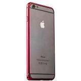 Бампер металлический iBacks Colorful Venezia Aluminum Bumper для iPhone 6s Plus/ 6 Plus (5.5) - gold edge (ip60092) Red