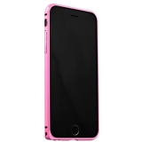 Бампер Fashion Case для iPhone 6s/ 6 (4.7) металлический светло - розовый