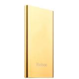 Внешний аккумулятор Yoobao Power bank Dual Inputs YB - PL5 (USB выход: 5V 2.1A) 5000 mAh Gold, цвет золотой