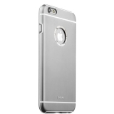 Накладка металлическая iBacks Ares Armour Love Aluminum Case with Crystal Diamond для iPhone 6s Plus (5.5) - (ip60292) Gray