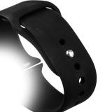Спортивный ремешок для Apple Watch (44 mm) COTEetCI W3 Sport Band (CS2086 - BK), цвет черный