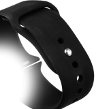 Спортивный ремешок для Apple Watch (42 mm) COTEetCI W3 Sport Band (CS2086 - BK), цвет черный