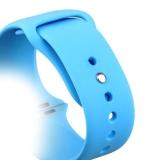 Спортивный ремешок для Apple Watch (38 mm) COTEetCI W3 Sport Band (CS2085 - BL), цвет голубой