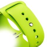 Спортивный ремешок для Apple Watch (38 mm) COTEetCI W3 Sport Band (CS2085 - GR), цвет зеленый